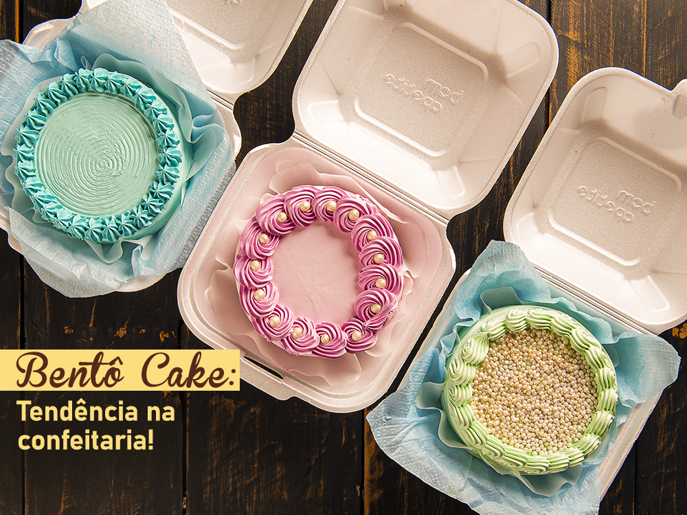 Bentô Cake: tendência na Confeitaria!